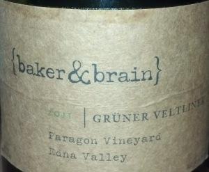 Baker & Brain Gruner Veltliner