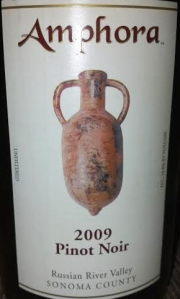 Amphora Russian River Valley 2009 Pinot Noir
