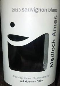 Medlock Ames wines