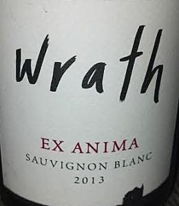 Wrath 2013 Sauvignon Blanc