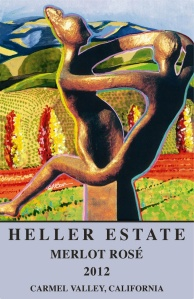 Heller Estate 2012 Merlot Rose